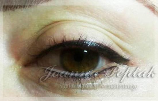 Makijaż permanentny oczu kreska dolna modelka 4 okladka